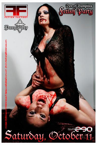 Den of Vampires flyer