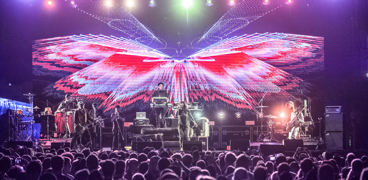 Thievery Corporation performs at III Points 2016. Jason Koerner