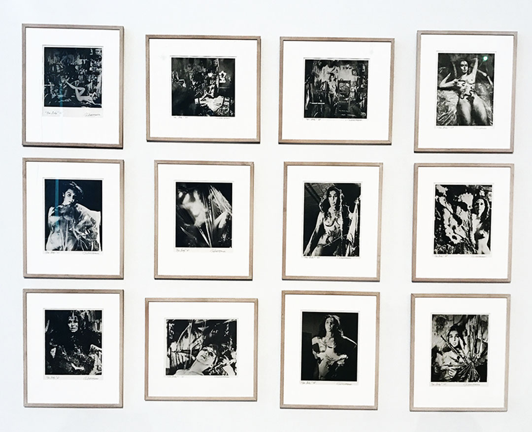 Carolee Schneemann - Eye Body: 36 Transformative Actions for Camera. 1963.