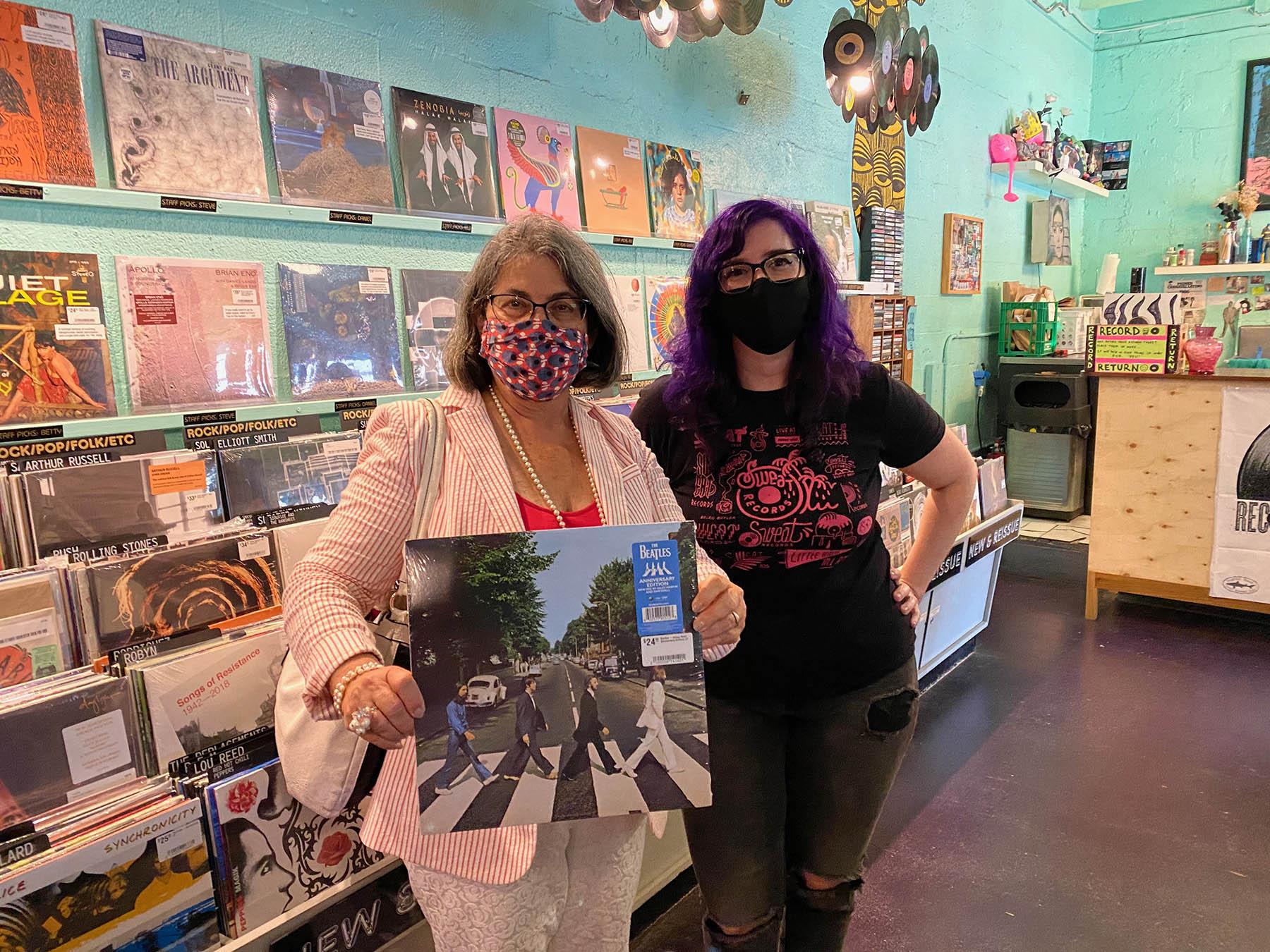 Lolo Reskin with Daniella Levine Cava