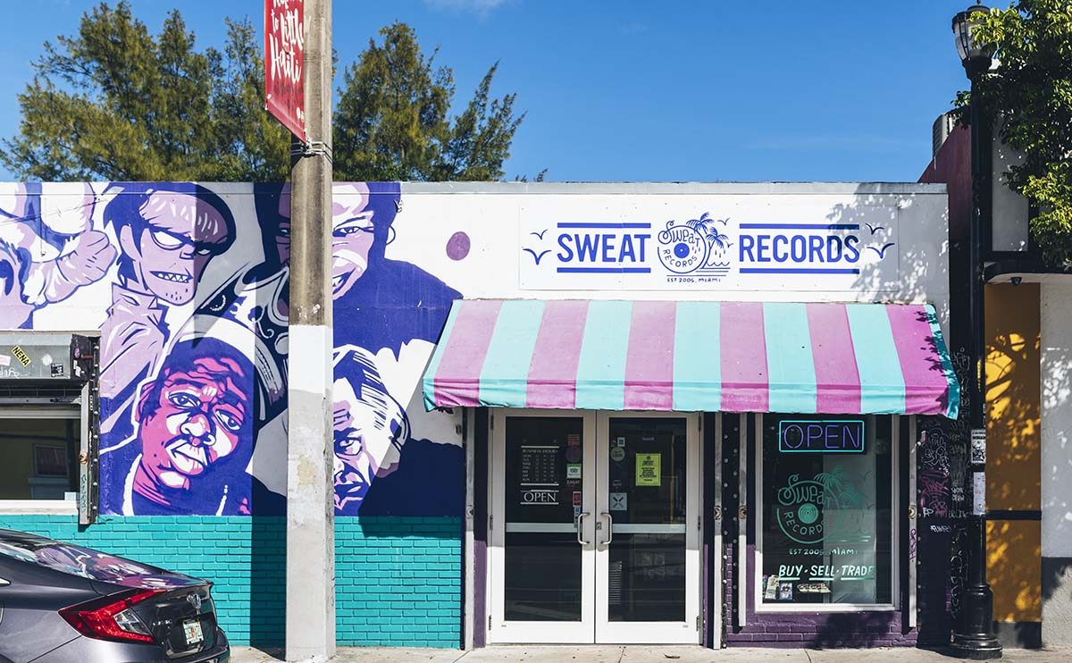 Sweat Records Storefront